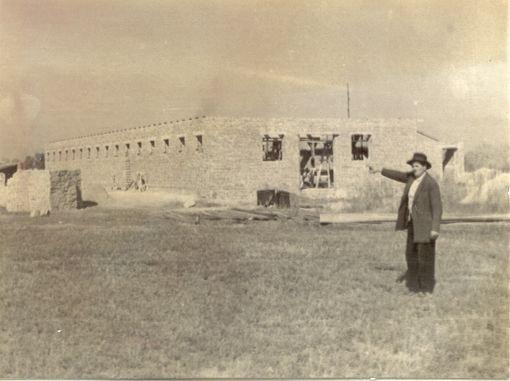 építkezés A Rákóczi TSZben 59-60